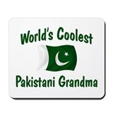 Coolest Pakistani Grandma Mousepad