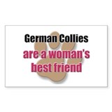 German Collies woman's best friend Decal