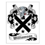 Williamson Family Crest Small Poster