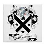 Williamson Family Crest Tile Coaster