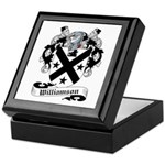 Williamson Family Crest Keepsake Box