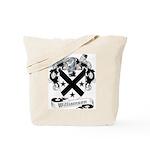 Williamson Family Crest Tote Bag
