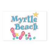 Myrtle Beach Flip-Flops - Postcards (Package of 8)