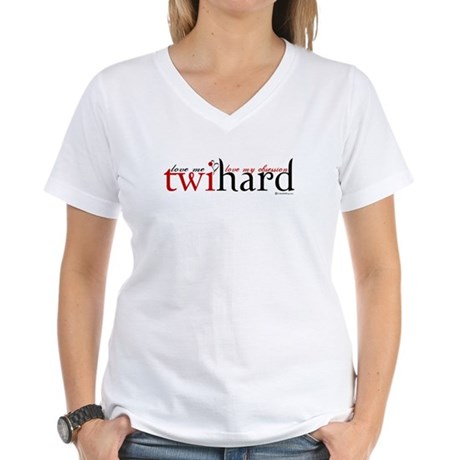Twihard Women's V-Neck T-Shirt