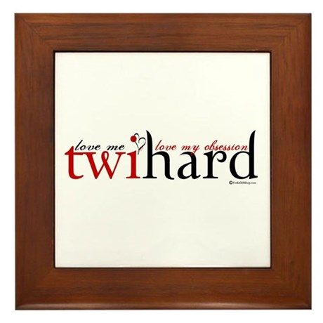 Twihard Framed Tile