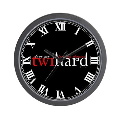 Twihard Wall Clock