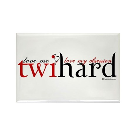 Twihard Rectangle Magnet