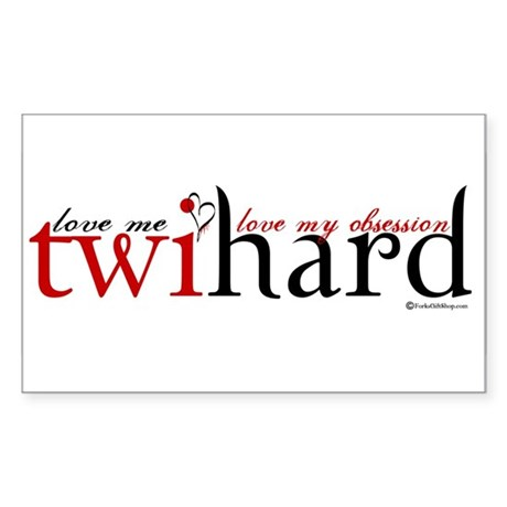 Twihard Rectangle Sticker