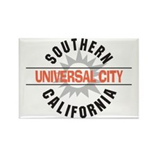Universal City California Rectangle Magnet (100 pa