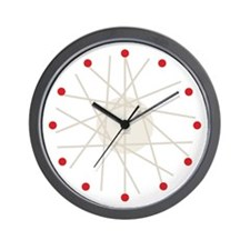 Haywire Small Wall Clock (red)