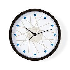 Haywire Small Wall Clock (blue)