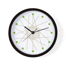 Haywire Small Wall Clock (green)