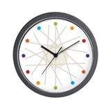 Haywire Small Wall Clock (multi-color)