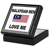 Malaysian Men Love Me Keepsake Box