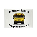 Transportation Department Rectangle Magnet (100 pa