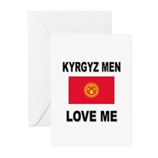 Kyrgyz Men Love Me Greeting Cards (Pk of 10)