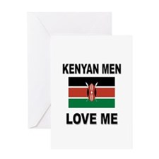 Kenyan Men Love Me Greeting Card