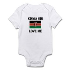 Kenyan Men Love Me Infant Bodysuit
