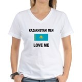 Kazakhstani Men Love Me Shirt