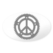 Peace Chainring sticker