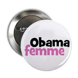 "Obama femme (French, Obama woman) 2.25"" Button"