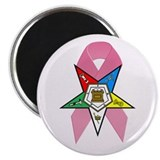 OES Breast Cancer Awareness Magnet