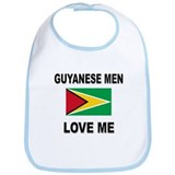 Guyanese Men Love Me Bib