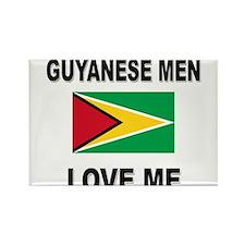 Guyanese Men Love Me Rectangle Magnet