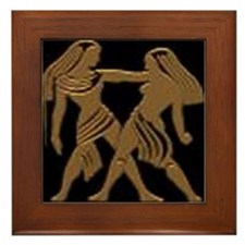 'Gemini', Framed Tile