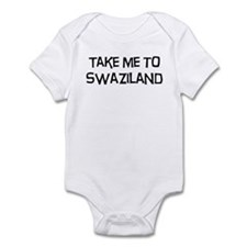 Take me to Swaziland Infant Bodysuit