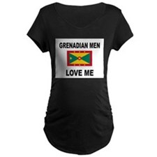 Grenadian Men Love Me T-Shirt