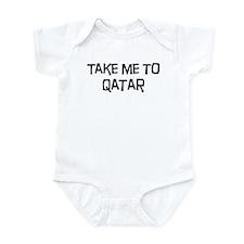 Take me to Qatar Infant Bodysuit