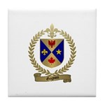 GAGNON Family Crest Tile Coaster
