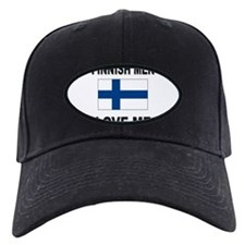 Finnish Men Love Me Baseball Hat