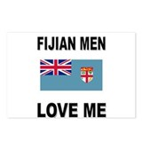 Fijian Men Love Me Postcards (Package of 8)