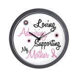 Loving Admiring Supporting 1 (Mother) Wall Clock