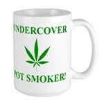 Undercover Pot Smoker Large Mug