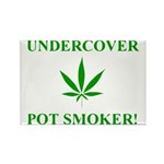 Undercover Pot Smoker Rectangle Magnet (10 pack)