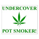 Undercover Pot Smoker Small Poster