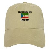 Equatoguinean Men Love Me Baseball Cap