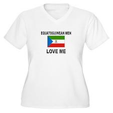 Equatoguinean Men Love Me T-Shirt