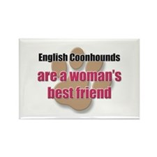 English Coonhounds woman's best friend Rectangle M