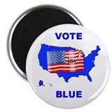 Vote Blue Democrat Magnet