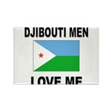 Djibouti Men Love Me Rectangle Magnet (10 pack)