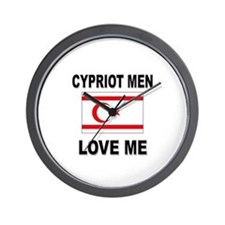 Cypriot Men Love Me Wall Clock