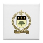 FOREST Family Crest Tile Coaster