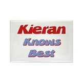 Kieran Knows Best Rectangle Magnet
