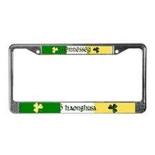 Hennessey (In Gaelic & English)License Plate Frame
