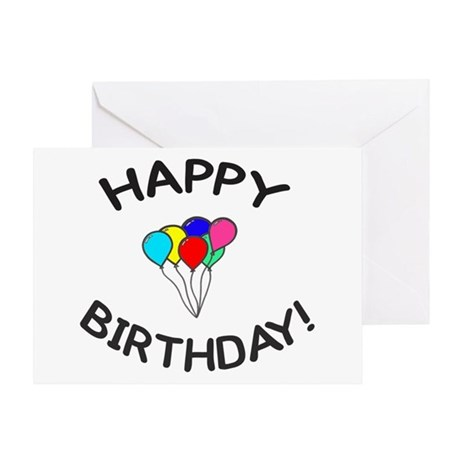 'Happy Birthday!' Greeting Card