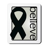Pearl (Believe) Ribbon Mousepad